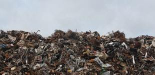 Solid waste landfill garbage
