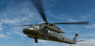 Military helicopter2