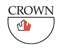 Logo crown wood